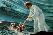 PETER VS. JESUS IN WATER