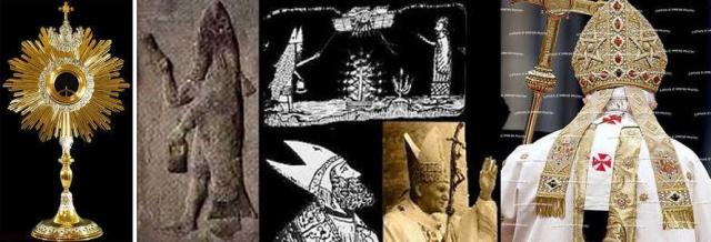 Image result for vatican satanic symbols