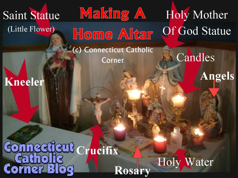 home altar making one