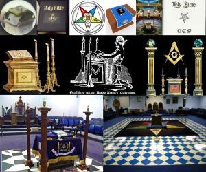 Masonic Bible - Altar
