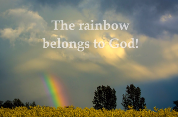 rainbow belongs to God