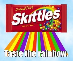 rainbow skitties