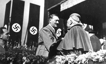 HITLER AND POPE