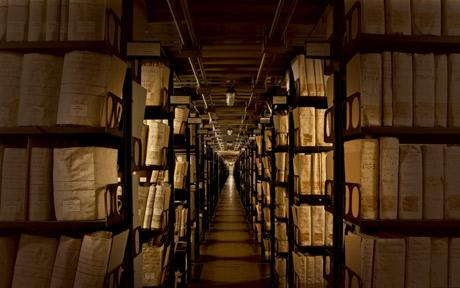 VATICAN LIBRARY, SECRET ARCHIVES