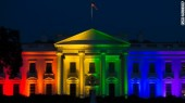 RAINBOW COLORS ON WHITE HOUSE, END IS NEAR1