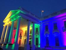RAINBOW COLORS ON WHITE HOUSE, END IS NEAR4