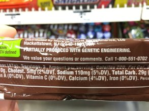 SNICKERS BAR, GENETIC ENGINEERING